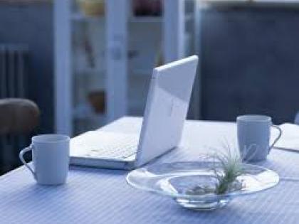 Darbas namuose internetu